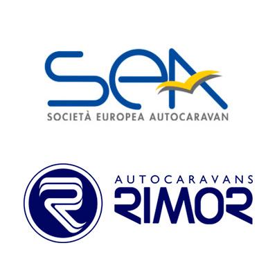 Autorizzati gruppo Rimor Sea logo auto caravan